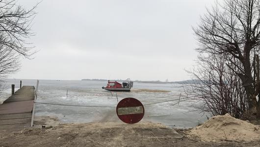 10 zasad bezpiecznej jazdy po zamarzniętym jeziorze