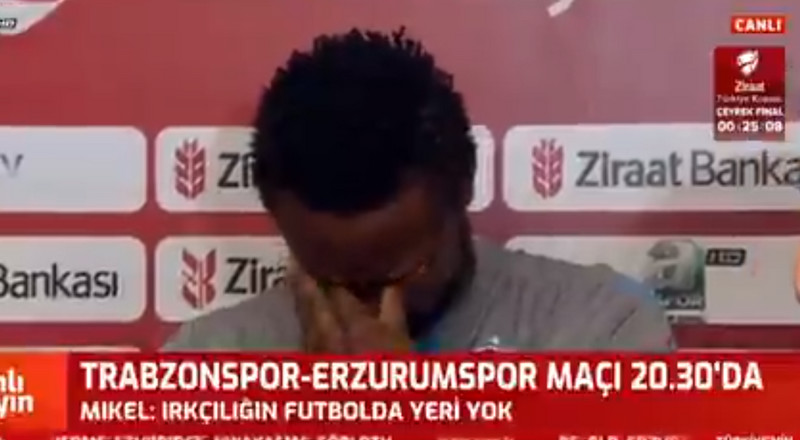 Mikel Obi breaks down in tears over online abuse at his girlfriend and daughters