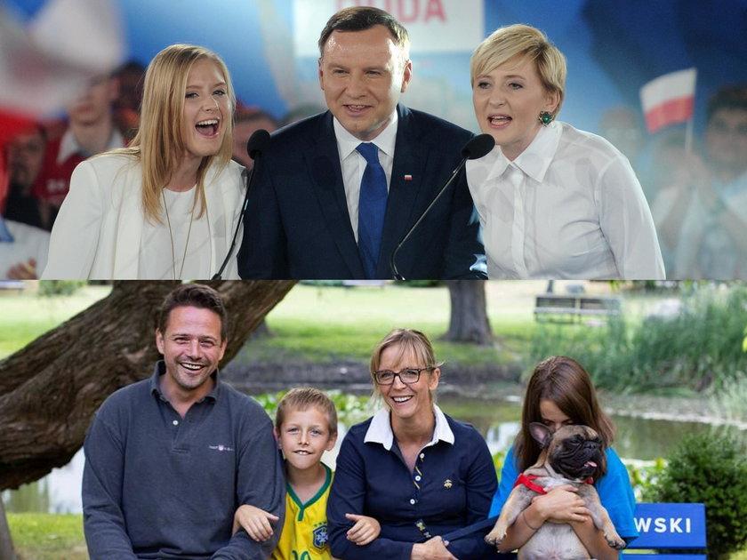 Obaj stawiają na rodzinę