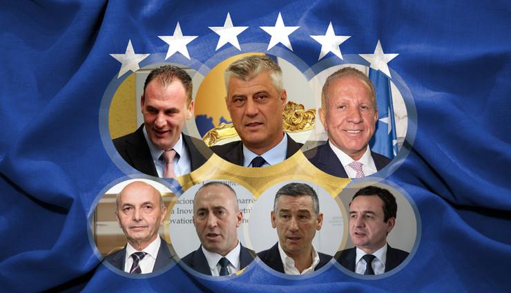 Albanci, Kosovo, Priština, Političari, Kombo