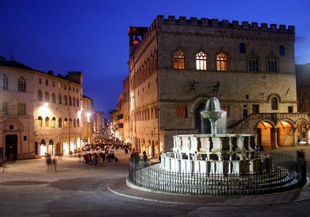Perugia. Najpiekniejsze miejsca Włoch