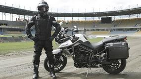 Mistrz żużla, Krzysztof Kasprzak, na motocykl wybrał odzież Macna