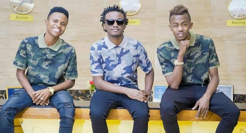 Peter Blessing, Bahati and Weezdom