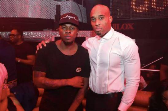 Runtown and the CEO of his former record label, Okwudili Umenyiora [List.ng]
