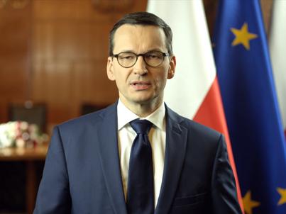 Mateusz Morawiecki wygłosił przemówienie na temat ustawy o IPN w czwartek, 1 lutego