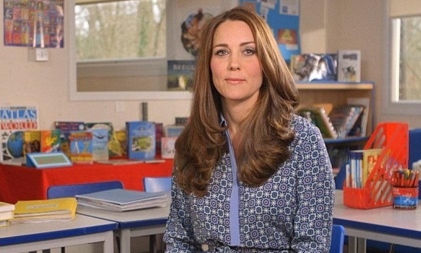 Wideo wiadomość księżnej Kate o walce z depresją dziecięcą