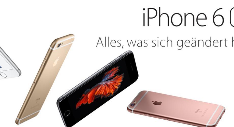 Apple stellt iPhone 6s mit 3D Touch vor