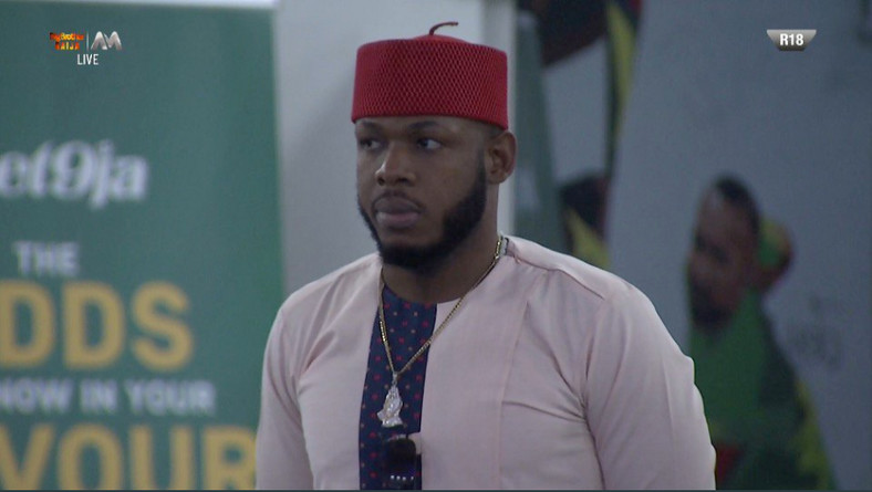 Frodd emerged the 23rd housemate to be evicted from the Big Brother Naija 2019 house. [Twitter/BBNaija]
