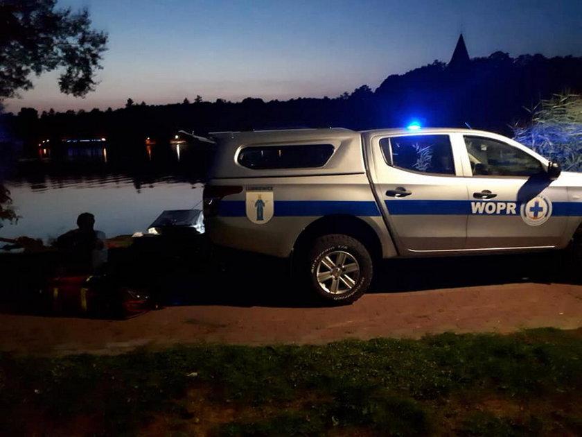 Dwóch mężczyzn topiło się w jeziorze Lubiąż