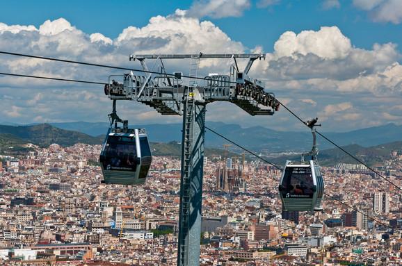 U Barseloni funkcioniše sistem sa gondolama