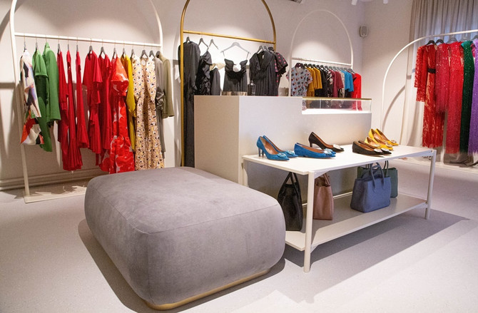 U Zagrebu je Aleksnadra na 500 kvadrata otvorila jedan od najraskošnijih butika u regionu