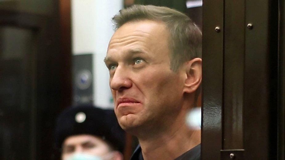 Aleksiej Nawalny, luty 2021 r.