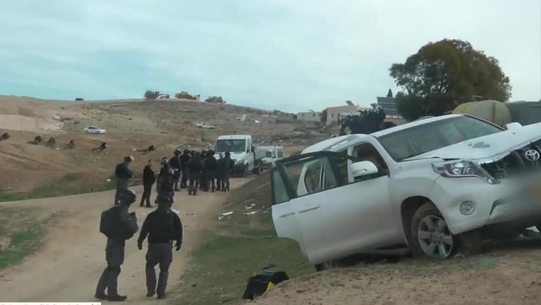 Atak na policjantów w Izraelu