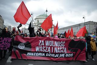 'Za wolność waszą i naszą'. Ulicami stolicy przeszedł marsz antyfaszystowski