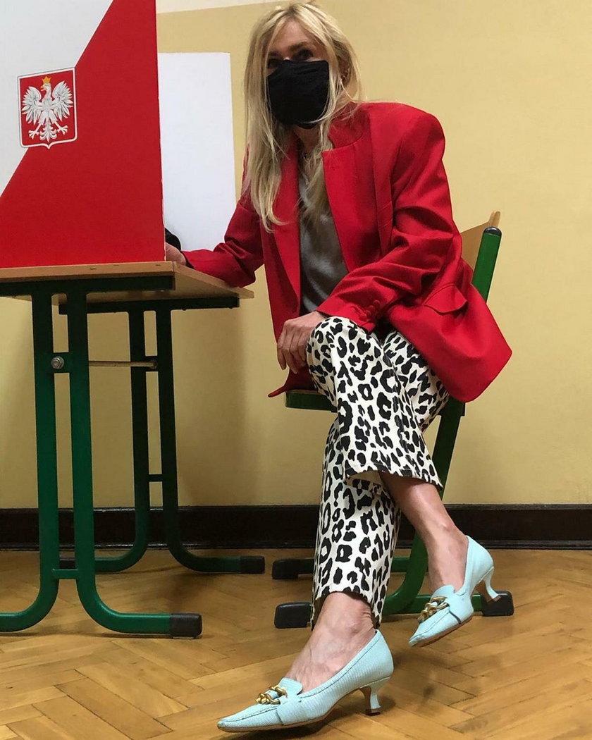 Dziennikarka Monika Olejnik