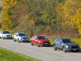 Kia XCeed, Mazda CX-30, Peugeot 3008 i Renault Kadjar - SUV czy crossover?