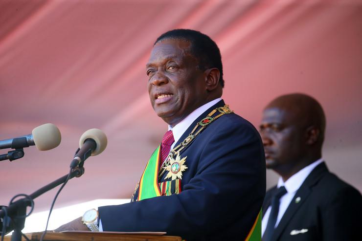 Zimbabve, predsednik, Emerson Mnangava, EPA - AARON UFUMELI