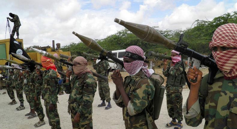 Al Shabaab militia.