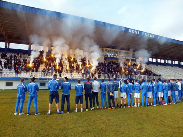 Igrači su se zahvalili navijačima na podršci