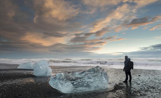 Plaża w Islandii