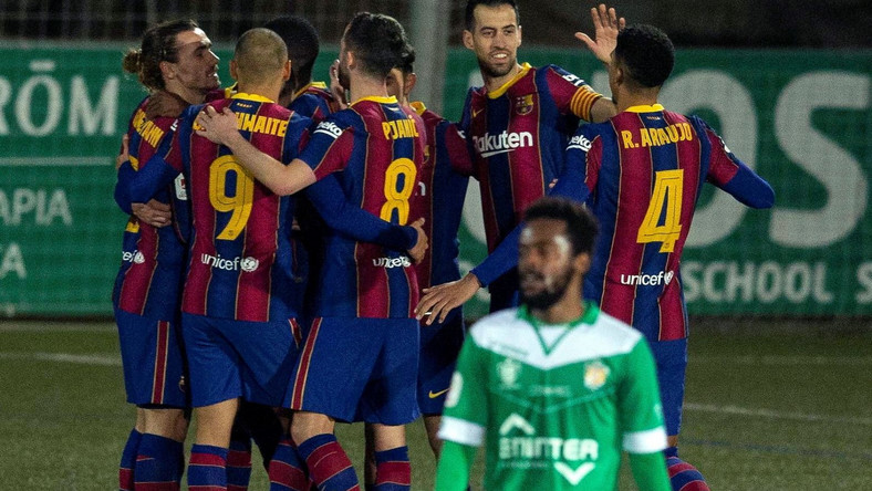 UE Cornella - FC Barcelona