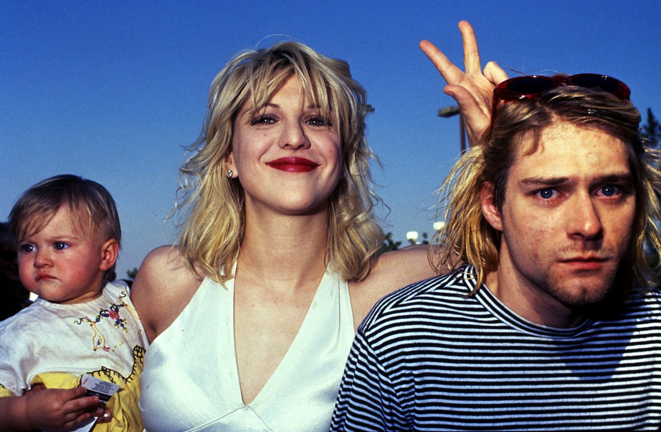 Courtney Love i Kurt Cobain