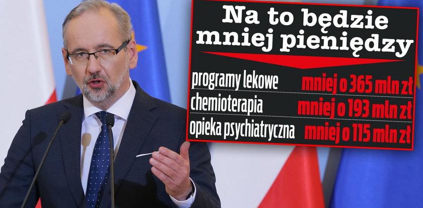Mniej na leczenie raka, więcej na Kancelarie Sejmu i Senatu. Tak rząd dzieli pieniądze