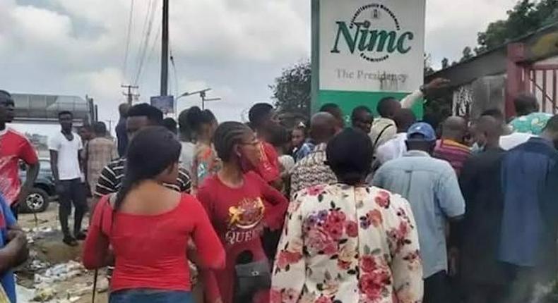 NIMC says 56 million Nigerians have registered for NIN. (Plustv)