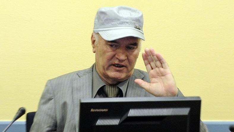 Ratko Mladic, pictured in 2011, returns to court today as his war crimes trial nears an end