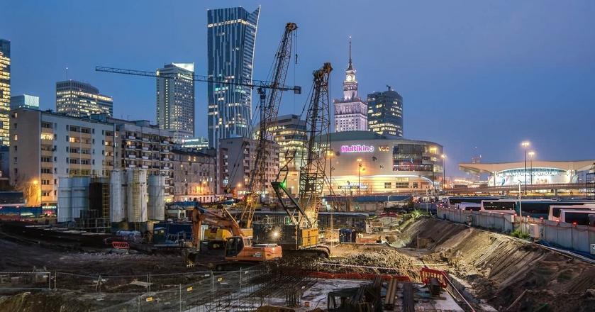 Trwa budowa Varso – najwyższego biurowca w Polsce