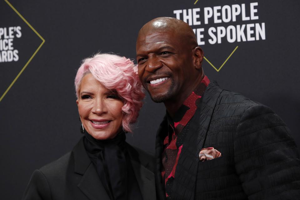 People's Choice Awards 2019: Terry Crews i jego żona Rebecca