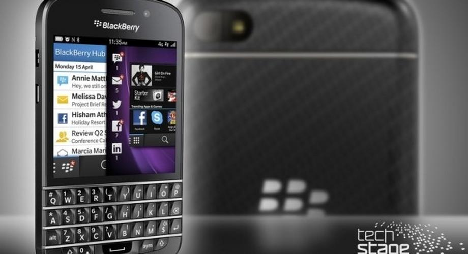 BlackBerry Q10 im Hands-On: Touchscreen und Tastatur