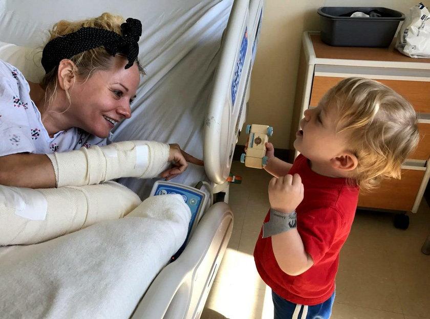 Niania Caroline Maurer uratowała 2-latka. Teraz potrzebuje pomocy