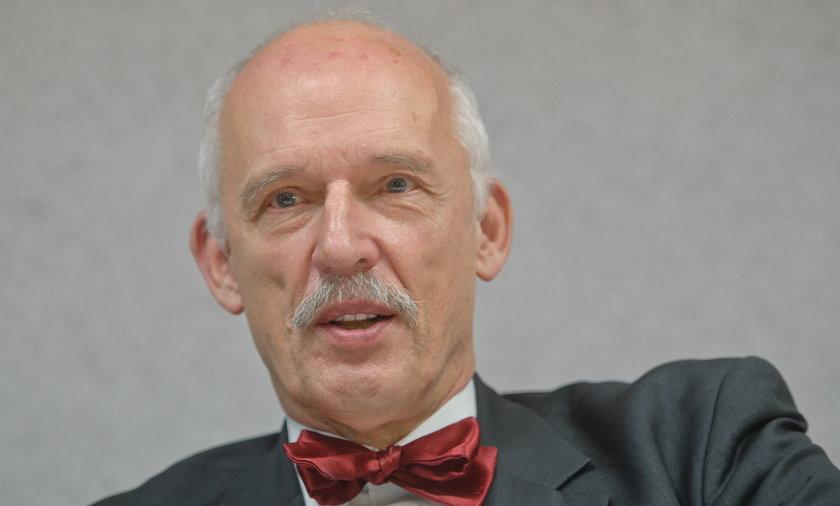 Janusz Korwin Mikke.