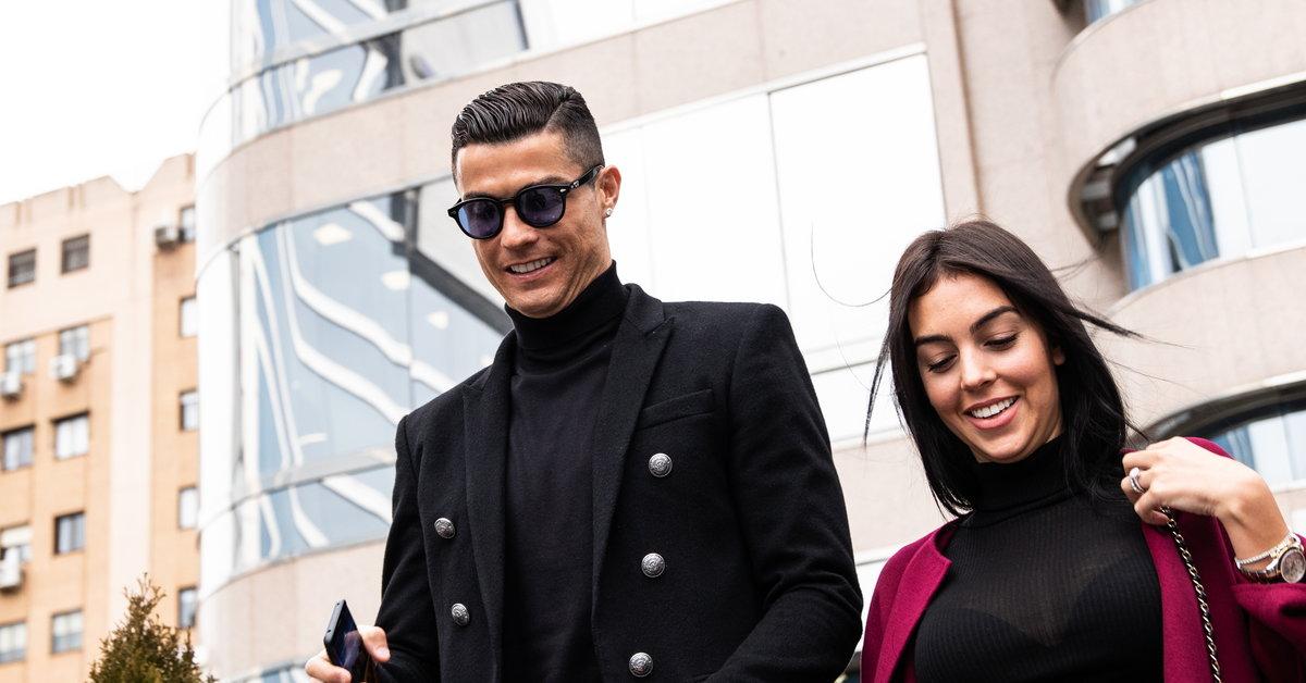 Georgina Rodriguez złożyła życzenia Cristiano Ronaldo - Sport