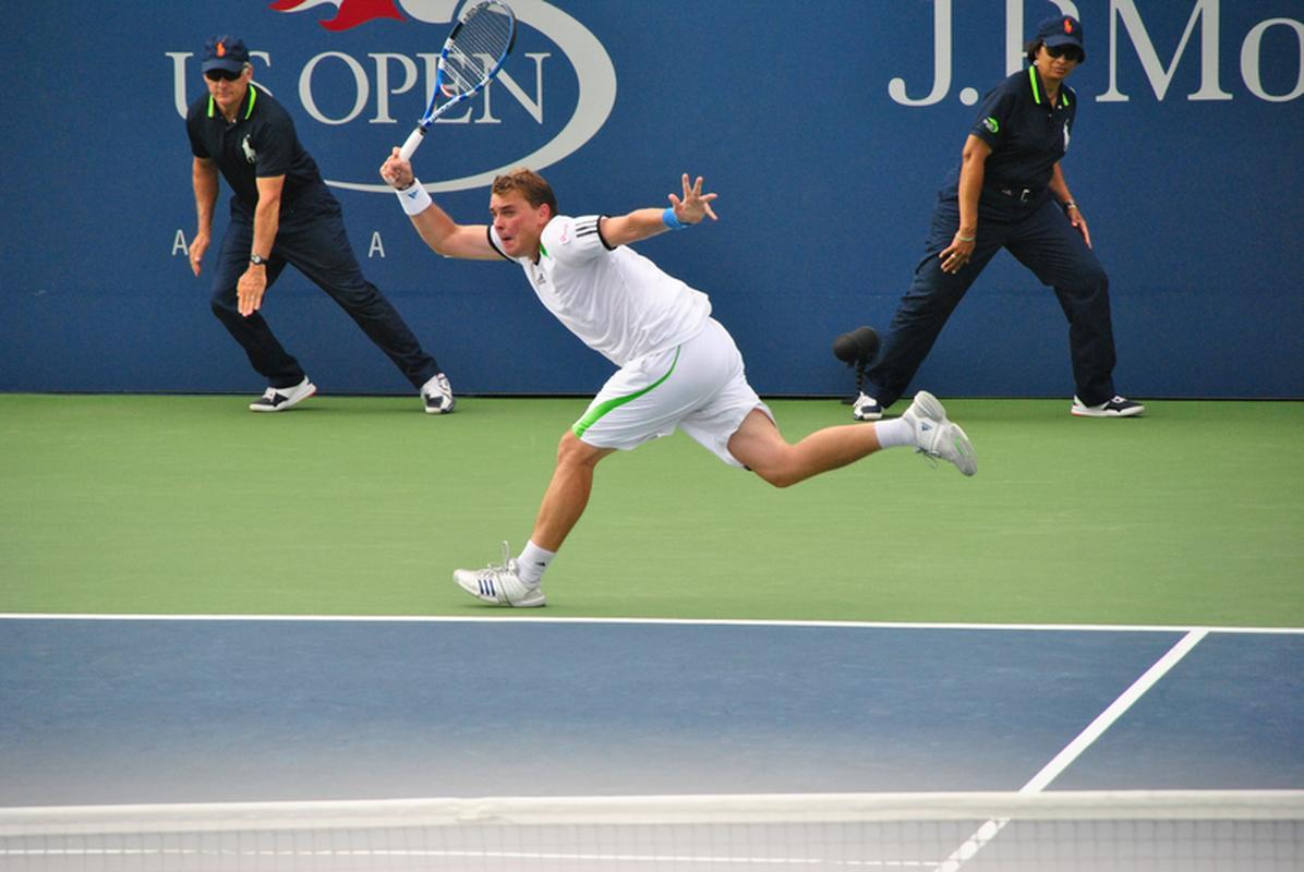 Marcin Matkowski podczas zawodów US Open