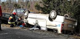 Wypadek na drodze do Morskiego Oka. 9 osób rannych