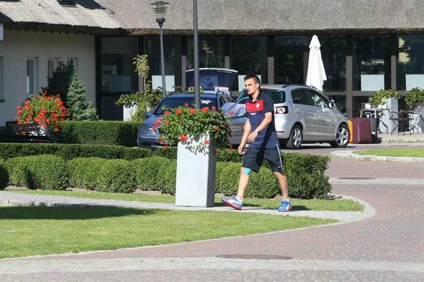Reprezentanci Polski w piłce nożnej na różne sposoby starali się wyluzować przed meczem z Niemcami