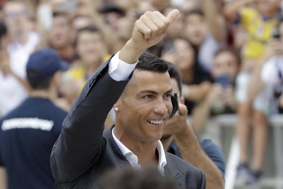 Ronaldo raspametio Italijane na promociji u Juventusu