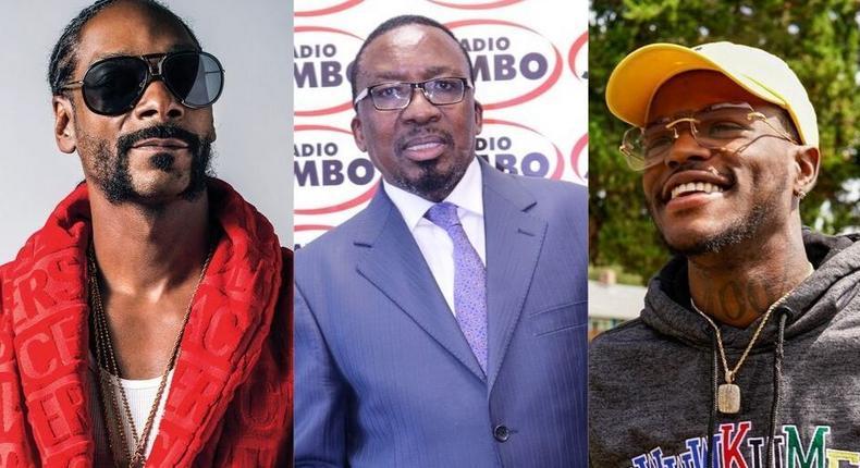 American Rapper Snoop Dogg shares video of Pastor Ng'ang'a slapping church members