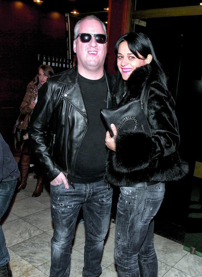 Saša sa suprugom Anđelijom