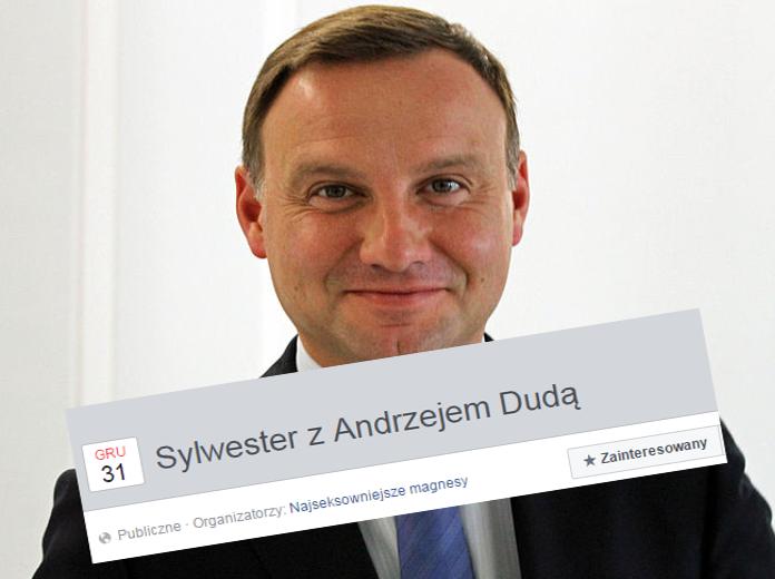 93686b25abb5 Facebook  Sylwester z Andrzejem Dudą wydarzenie  Kamil Glik