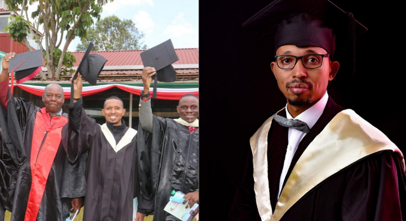MP Mohamed Ali Graduates from Moi University with a Masters (Photos)