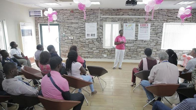 Newmont Ghana's Women And Allies Network joins global fight against breast cancer