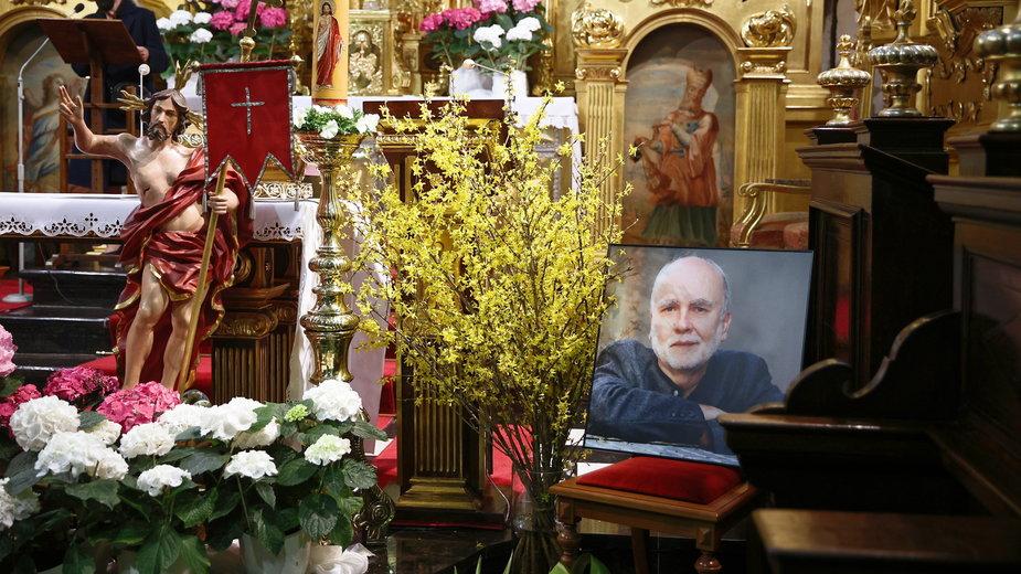 Msza w intencji Adama Zagajewskiego w bazylice św. Floriana