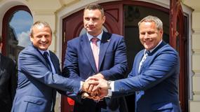 Witalij Kliczko podpisał memorandum w sprawie współpracy z Pesą