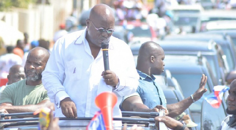 The Presidency is not for trial and error – Akufo-Addo jabs Mahama