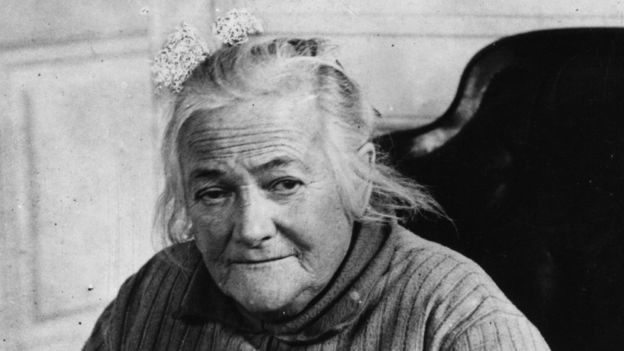 Clara Zetkin came up with the idea for an International Women's Day (BBC)