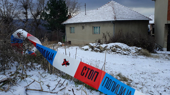 Kuća u kojoj je pronađena Monika