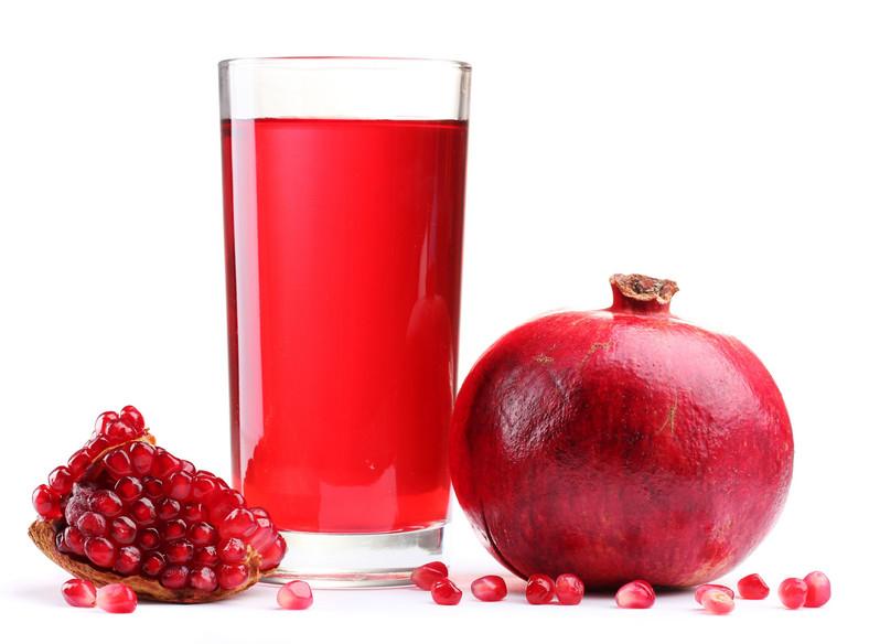 Owoc granatu i sok z granatów